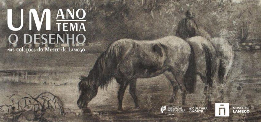 Um Ano. Um Tema - O desenho nas coleções do Museu de Lamego - Capa de e-book