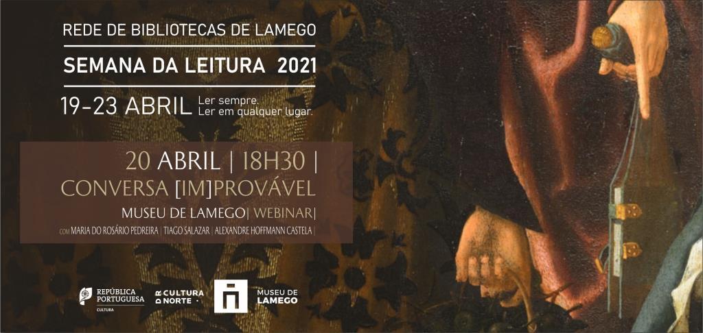Conversa [im]provável no Museu de Lamego - Webinar - Banner