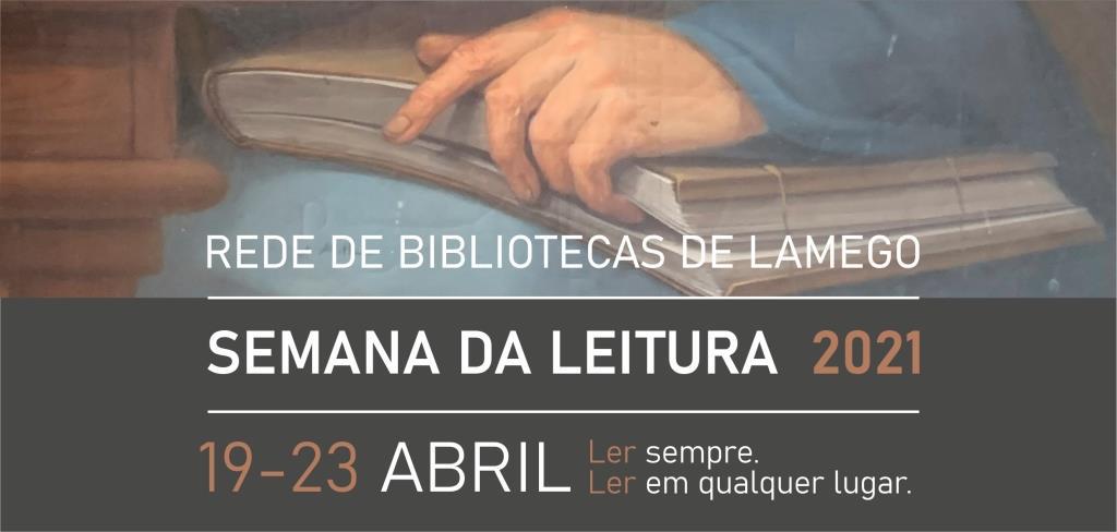 Semana da Leitura de Lamego 2021 - banner