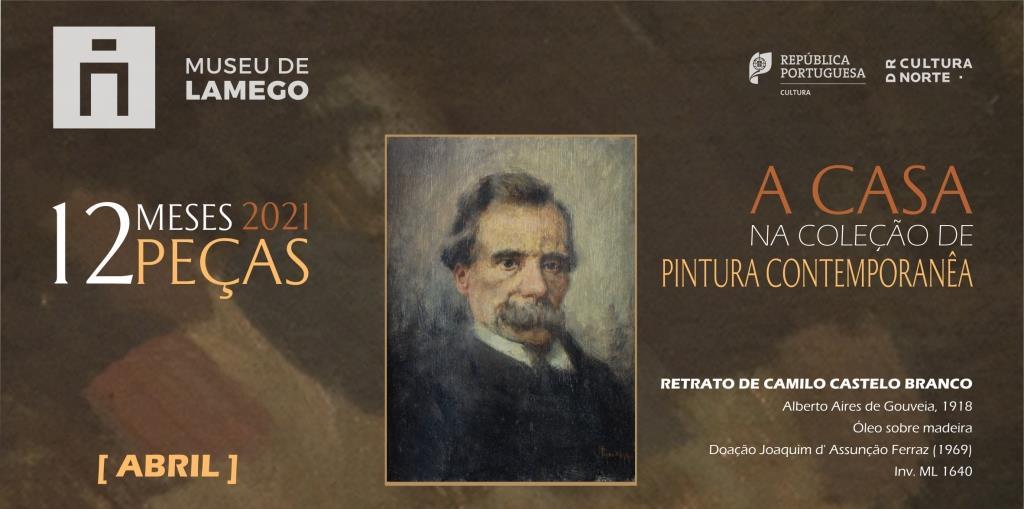 12 meses 12 peças - abril 2021 - Retrato Camilo Castelo Branco - banner