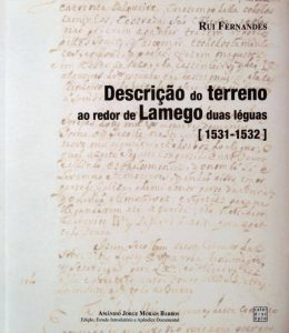 Publicação Descrição do Terreno ao redor de Lamego - Capa